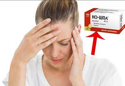 Но-шпа от головной боли: помогает или нет, как принимать правильно
