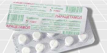 Парацетамол состав и применение