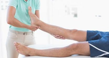 Как проходить реабилитацию травм ступней?