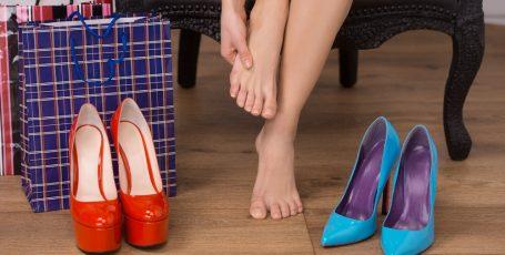 Купероз на ногах
