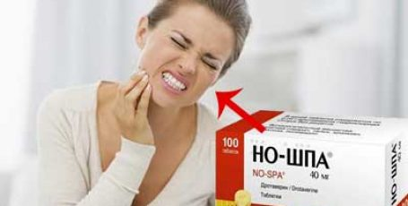 Поможет ли Но-шпа при зубной боли?