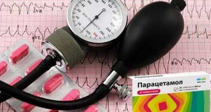 Как Парацетамол влияет на давление: повышает или снижает показатели артериального давления